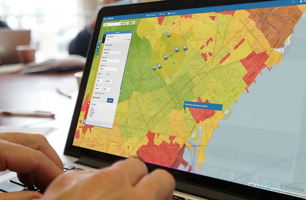 Geoblink ofrece una solución SaaS de Location Intelligence, dirigida a empresas que dispongan de una red física de puntos de venta