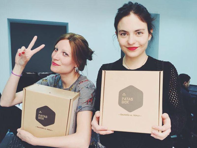 Mujeres emprendedoras - Cristina y Aida Patasbox - Lanzadera