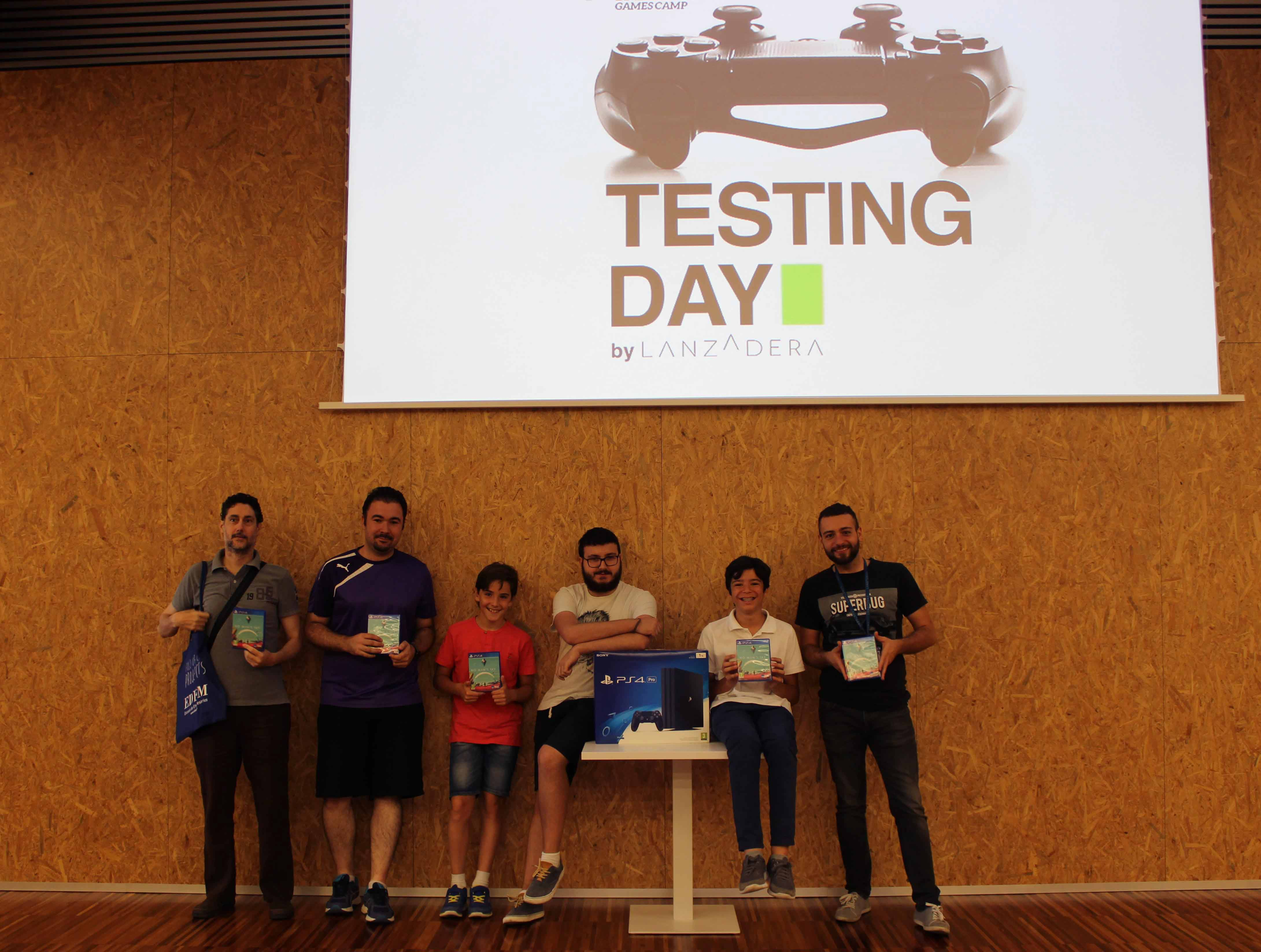 Premiados Testing Day Lanzadera