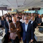 Bill McDermott y Juan Roig visitan Mercadona, así como  el polo de emprendimiento Marina de Empresas