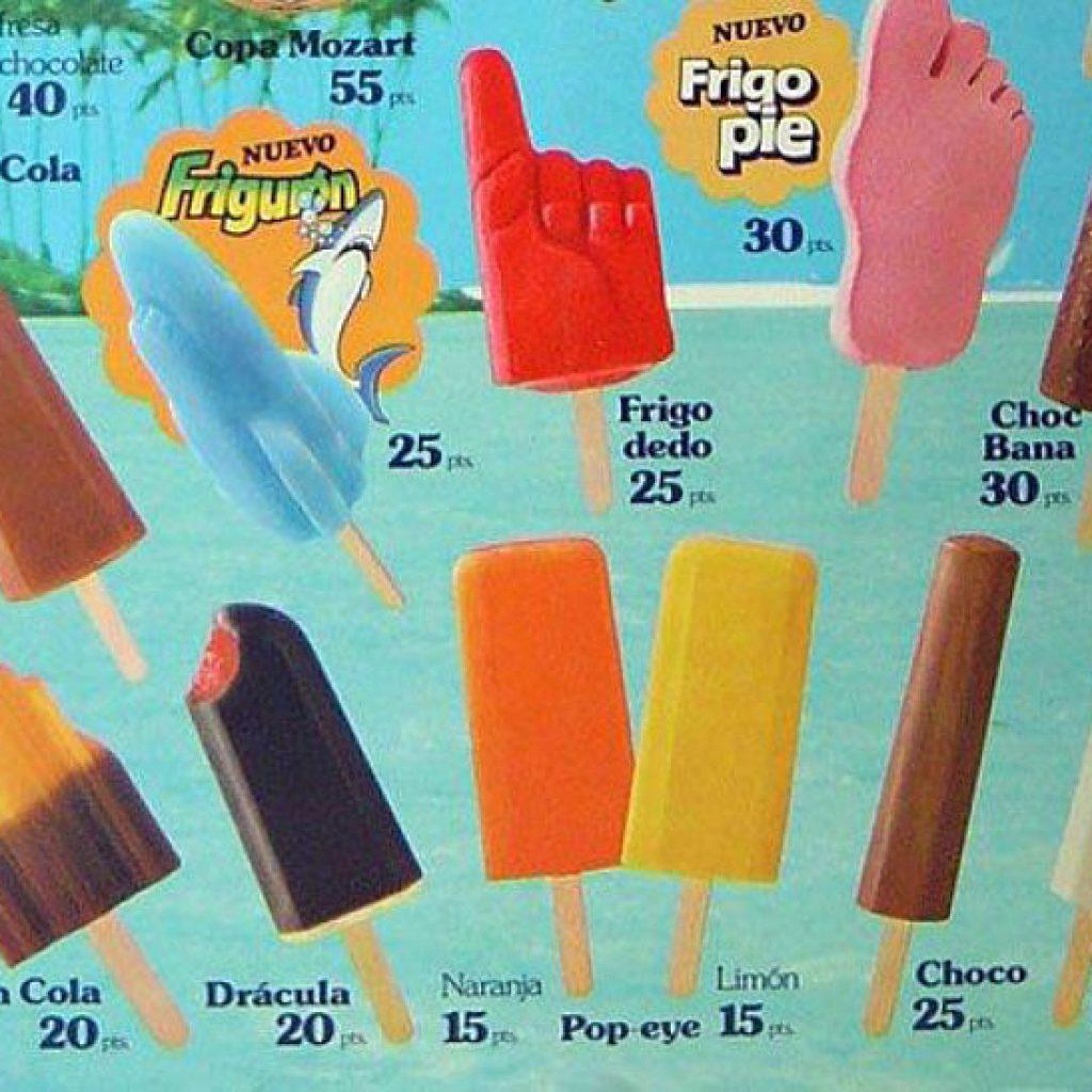 ¿Qué helado de los 80 eres?