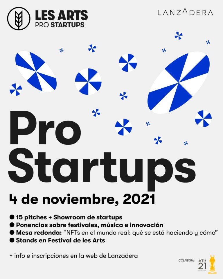 Nos aliamos con Les Arts para impulsar empresas relacionadas con la música, conoce Les Arts Pro Startups